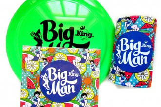 King Social Frisbee, CD and Cooler